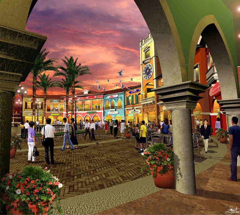 The Venice Piazza