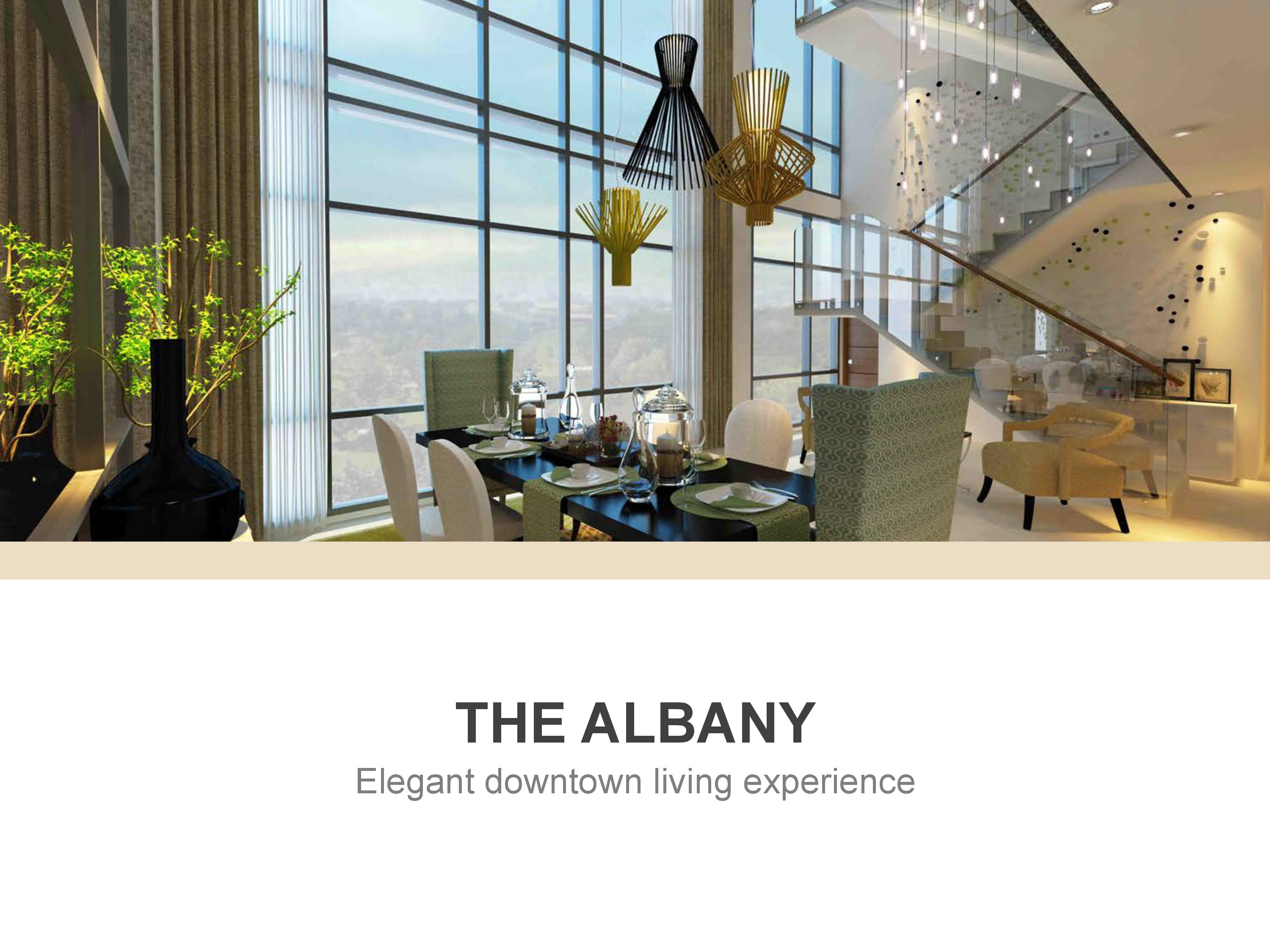 The Albany at Kinsley Tower- Elegant downtown living experience